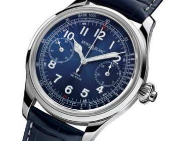 808064dbb9e Montblanc 1858 Chronograph Tachymeter Limited Edition